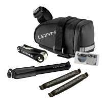 Lezyne m-caddy zadeltas sport kit zwart