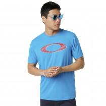 Oakley legacy ellipse t-shirt hawaiian blauw