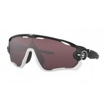 Oakley jawbreaker fietsbril mat zwart - prizm road black lens