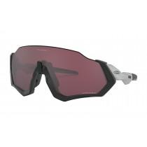 Oakley flight jacket fietsbril mat zwart - prizm road black lens