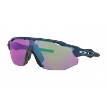 Oakley radar ev advancer fietsbril poseidon - prizm golf lens