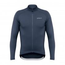 De Marchi classica sportwool fietsshirt met lange mouwen navy
