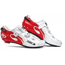 SIDI Wire Carbon Lucido White Red Race Fietsschoen Tecno 3