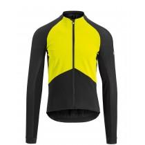 Assos mille gt spring/fall fietsjack fluo geel