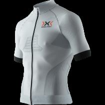 X-Bionic race evo biking fietsshirt korte mouwen grijs
