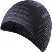 Uyn fusyon unisex ear cap zwart antraciet