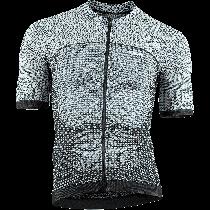 Uyn alpha fietsshirt met korte mouwen white/black