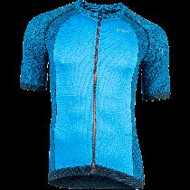 UYN activyon biking fietsshirt met korte mouwen blauw dodger zwart