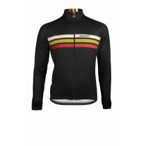 Vermarc prestige fietsshirt lange mouwen zwart