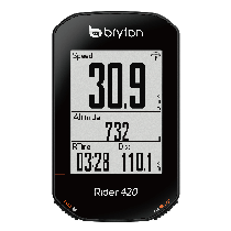 Bryton Fietscomputer Rider 420 H/ Hartslag