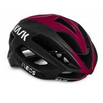 Kask protone team Ineos fietshelm zwart bordeaux
