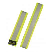 WOWOW 3M Reflective Band Yellow Fluo (2 Pack)