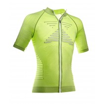 X-BIONIC Effektor Biking Power Shirt SS Green Lime Pearl Grey