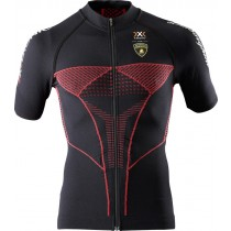 X-BIONIC Lamborghini Biking Shirt SS Black Red