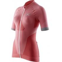 X-BIONIC Race Evo Biking Lady Shirt SS Pink Paradise Pearl Grey
