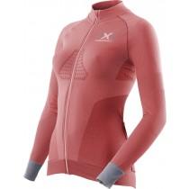 X-Bionic race evo biking dames fietsshirt lange mouwen roze