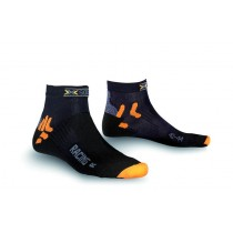 X-Socks bike racing fietssok zwart