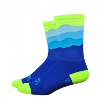 "DEFEET Sock Ridge Supply Aireator 6"" Skyline Neon Yellow"