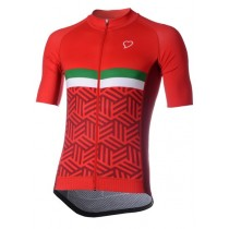 RUBA CUORE Morcone SS Jersey Red Nationale