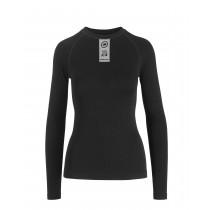 Assos skinfoil spring/fall ondershirt met lange mouwen blackseries zwart