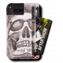 Pocpac 3X smartphone hoes skull