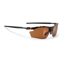 Rudy Project Rydon bril demi turtle gloss - action brown