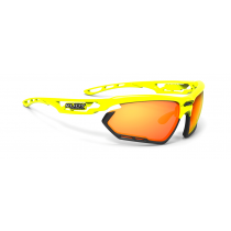 Rudy Project Fotonyk bril yellow fluo gloss - multi laser orange lens