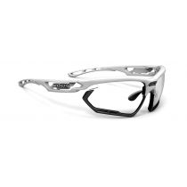 Rudy Project Fotonyk bril white gloss - impactX photochromic 2 black lens
