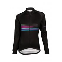 Vermarc sting dames fietsshirt met lange mouwen zwart