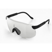 Alba optics stratos fietsbril zwart - vzum F lens