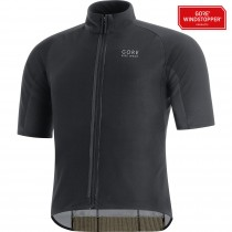 GORE BIKE WEAR Oxygen Classics Gore Windstopper Jersey SS Black