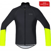 GORE BIKE WEAR Power WS SO  ZO Jersey Black Neon Yellow