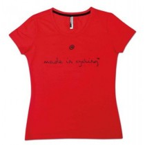 ASSOS Made In Cycling SS Lady T-Shirt National Red