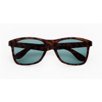 Alba Optics anvma bril turtle bruin - green erba lens