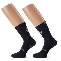 ASSOS Tiburu Evo 8 Sock Black Series (2 Pairs)