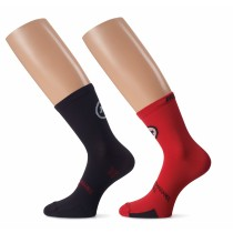 ASSOS Tiburu Evo 8 Sock National Red (2 Pairs)