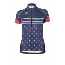 VERMARC Triangolo Lady Jersey SS Navy