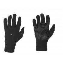 De Marchi cortina softshell fietshandschoen zwart