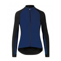 Assos uma gt spring/fall dames fietsjack caleum blauw
