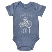 The Vandal This is How I Roll Romper Blauw
