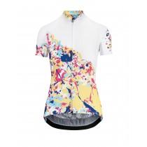 Assos wild dames fietsshirt met korte mouwen candy
