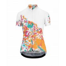 Assos wild dames fietsshirt met korte mouwen granita