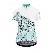 Assos wild dames fietsshirt met korte mouwen marble