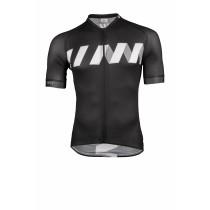 Vermarc winn summer fietsshirt korte mouwen zwart wit