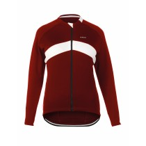 De Marchi Winter Jersey LS Red