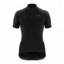 De Marchi classica dames fietsshirt met korte mouwen zwart
