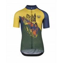 Assos fastlane wyndymilla fietsshirt met korte mouwen monarch