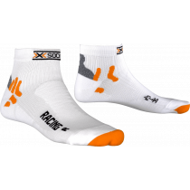 X-Socks bike racing fietssok wit