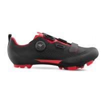 Fizik X5 terra MTB fietsschoenen zwart rood