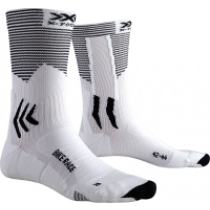 X-Socks bike race fietssokken arctic wit opal zwart